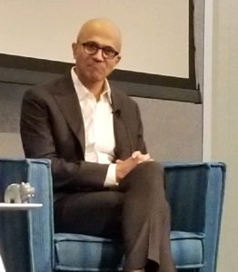 Satya Nadella with HiPPO