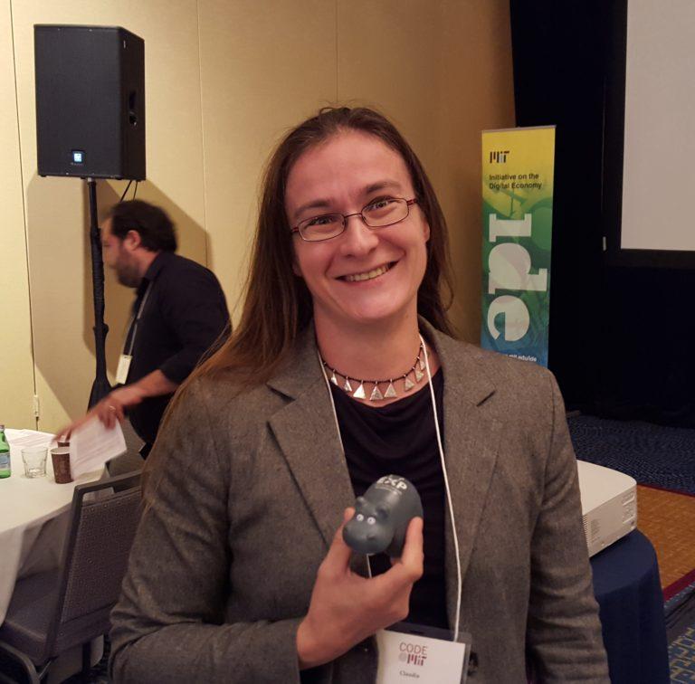 Claudia Perlich at MIT CODE 2015